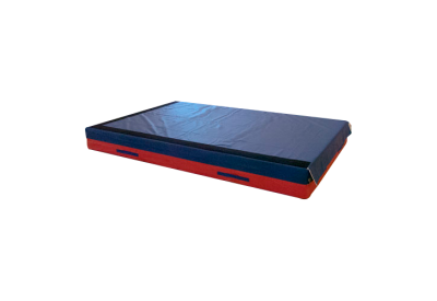 Landing Mat with shock-absorbing pad, with hooks