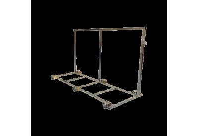 Transport trolley - L model lowered