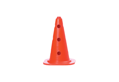 Cone with holes