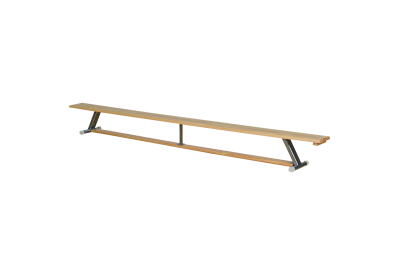 Bench with balance beam, 330 cm