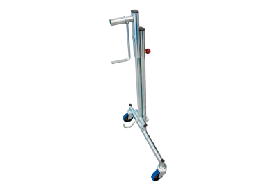 Lifting roller stand