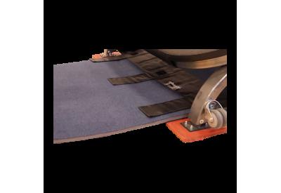 Run-up mat lock