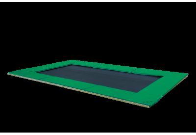 Nedgravet Trampolin PE - Grøn
